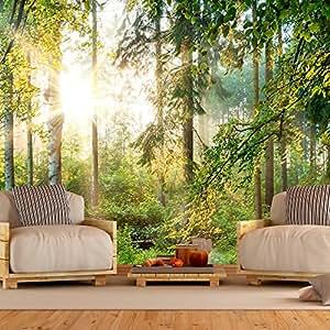murando fototapete wald 250x175 cm vlies tapete. Black Bedroom Furniture Sets. Home Design Ideas