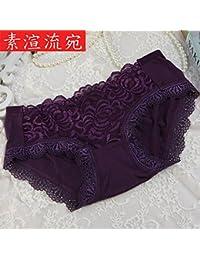 ZHANGYONG Sexy tentación Lace transpirabilidad y Comodidad translúcidos 8b2630089c96