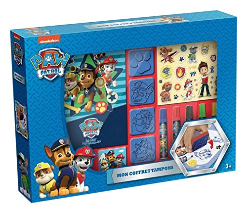 Canal Toys - CT37002 - Loisir Créatif - Paw Patrol - Coffret Tampons