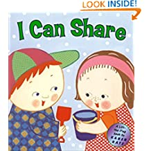 I Can Share: A Lift-the-Flap Book (Karen Katz Lift-the-Flap Books)