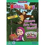 Masha And The Bear - Where Are You, Bear? Triple DVD Box Set