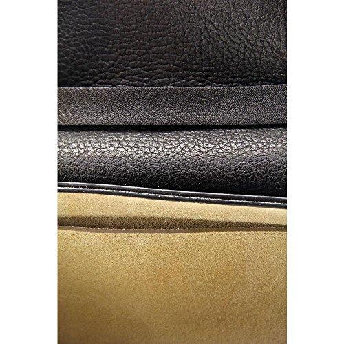 Chloe Drew Nano Leather Saddle Crossbody Bag Femmes Sac porté main Black
