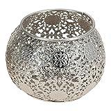 Teelichthalter aus Metall, 7x9cm