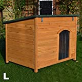 FeelGoodUK Wooden Dog Kennel, 101 x 74 x 80 cm - Large