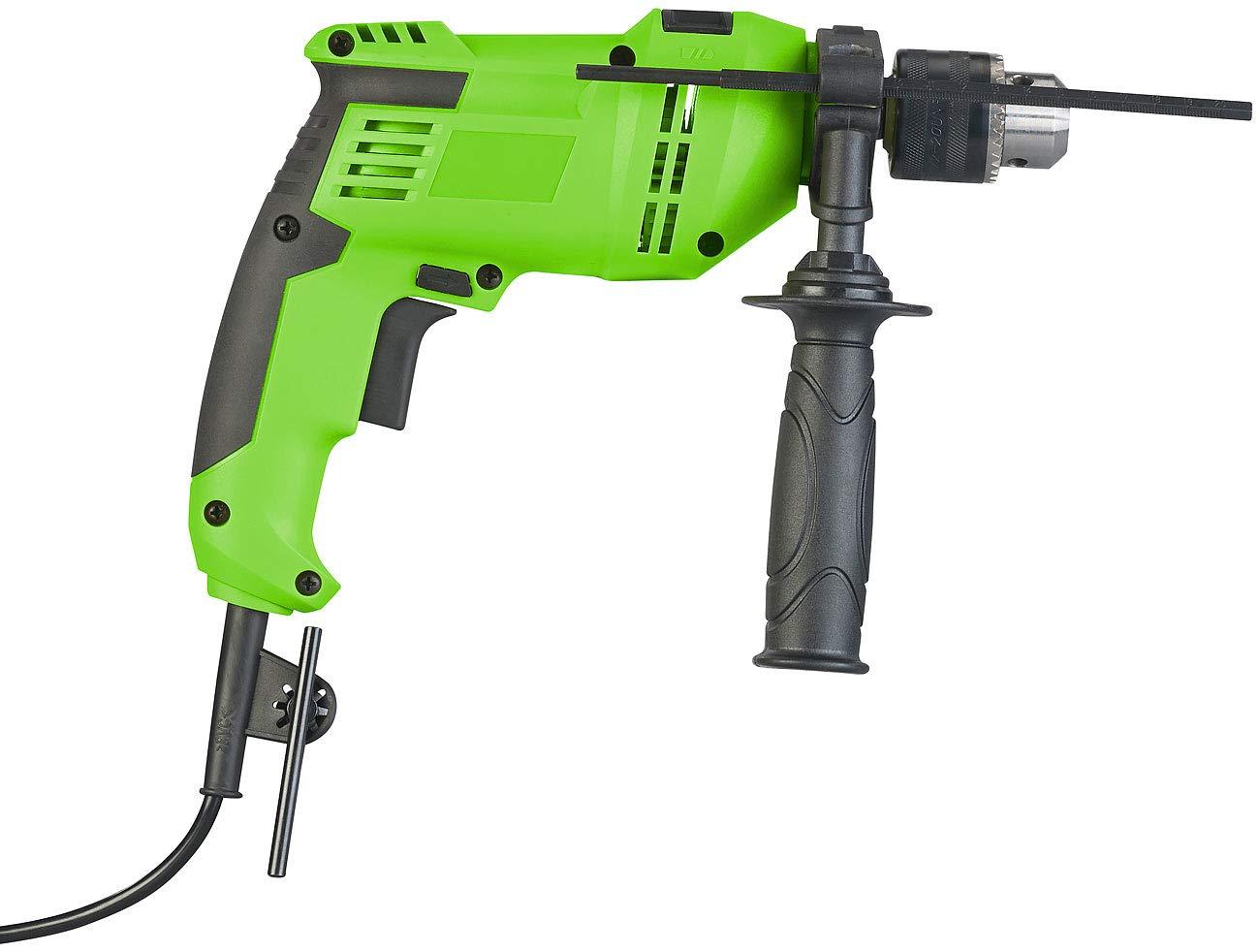 AGT Professional Bohrhammer: Schlagbohrmaschine mit 3-teiligem Zubehör in Transportkoffer, 550 Watt (Handbohrmaschine)