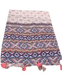 Westeng Chal, la primavera y el verano de la playa del sol toalla, protector solar chal bufanda del patrón de elefante largo párrafo,1pc