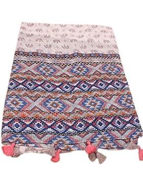 Westeng Chal, la primavera y el verano de la playa del sol toalla, protector solar chal bufanda del patrón de...