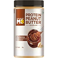 MuscleBlaze High Protein Peanut Butter (Dark Chocolate, 750g)