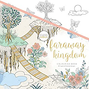 Kaisercraft - Libro para colorear Faraway Kingdom (CL533)