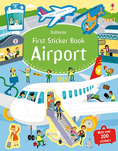 First Sticker Book: Airport (First Sticker Books) -