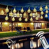 USB Guirlande Lumineuse SPECOOL 7M 50 LEDs 8 Modes Avec Télécommande Décoration pour Soirée, Anniversaire, Noël, Mariage, Jardin, Magasin, Maison Intérieur ou Extérieure (Blanc Chaud)