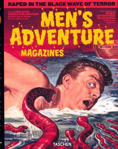 VA-25 MEN'S ADVENTURE MAGAZINES