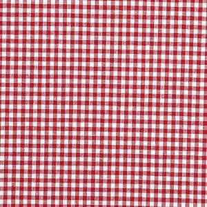 grande Nappe au motif vichy rouge polyester plastifié rectangle Linge de table 220 x 140 cm