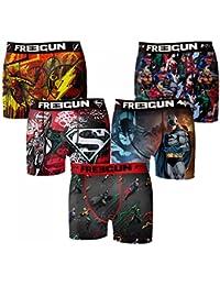 Freegun - Dc Comics - Lot De 5 Boxers Homme