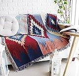 homefurnishing. S motivo geometrico ispessimento coperta per divano, divano asciugamano doppio, cuscino per sedia, tutti di prova di tiro coperta, tovaglia Mat.
