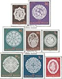 Ungarn 1660A-1667A (kompl.Ausg.) 1960 Halaser Spitzen (Briefmarken für Sammler)