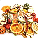 250g PACK OF MIXED DRIED FRUIT - CRAFT CHRISTMAS POT POURRI WREATH FLORIST FLORAL DECORATION