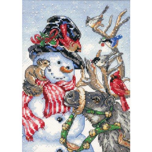 Dimensions Gezählter Kreuzstick Set, Snowmen and Reindeer