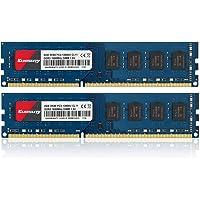 Kuesuny 16GB KIT (2X8GB) DDR3 1600MHz Udimm Ram PC3-12800 PC3-12800U 1.5V CL11 240 Pin 2RX8 Dual Rank Non-ECC Unbuffered…