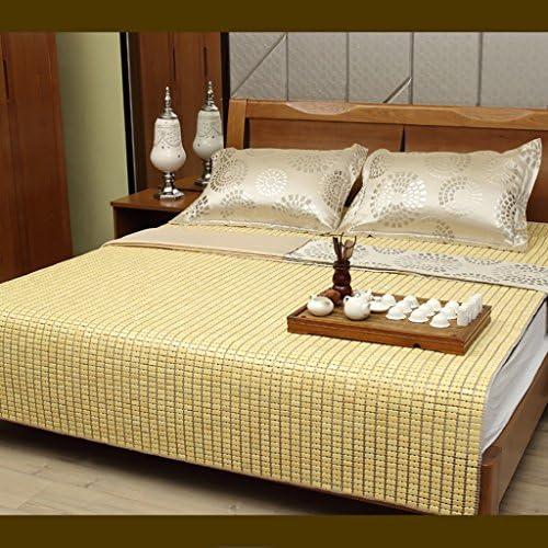 YXWzd Stuoia di bambù Fresca Stuoia di Stoffa per Sonno Il Sonno per Pieghevole Pieghevole di Calore 0,8 0,9 1,0 1,2 1,3 1,5 1,8 2,0 m (3,3 4   4,5 5 6 6,6 Piedi) (Dimensioni   1.8m2.2m Bed) 8231ab