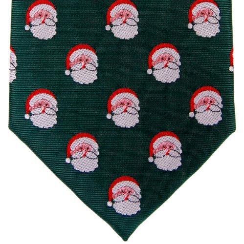 Retreez Père Noël Père Noël en microfibre tissé de cravate–Différentes couleurs Vert - Vert