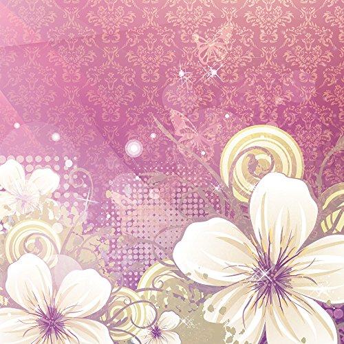 Apple iPhone 5 Case Skin Sticker aus Vinyl-Folie Aufkleber Blüten Blumen Ornamente DesignSkins® glänzend