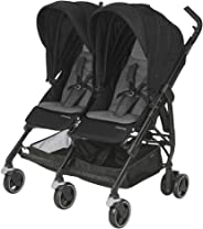 Maxi-Cosi Dana For2 İkiz Bebek Arabası, Nomad Black (Siyah)