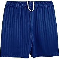 Only Global Unisex Boys Girls School Shadow Stripe Sports School PE Shorts Football UK
