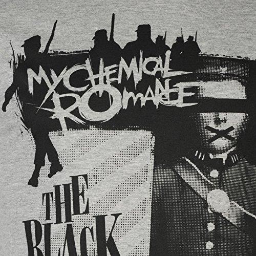 Official Herren Chemical Romance T Shirt Rundhals Kurzarm Leicht Tee Top Schwarz Parade