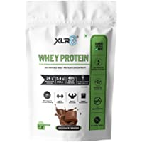 XLR8 Whey Protein with 24 g protein, 5.4 g BCAA - 1 lbs / 454 g (Chocolate)