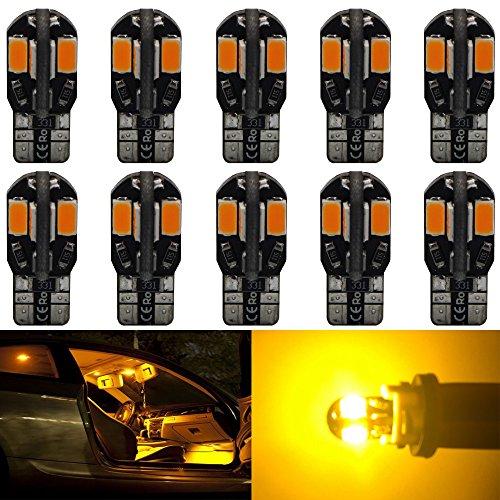 10-pack-194-amber-yellow-canbus-error-free-led-light-12v250lum-amazenar-car-interior-exterior-t10-8-