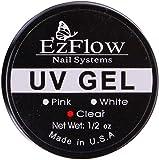 unique generic Nail Art UV Gel Builder (CLEAR) Tip Glue 15 ml