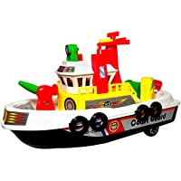 TOYMANIA Amazing Pull Back Water Boat Toy for Kids. | with Superb HIGH Speed. | Big Size and Very Beautiful Design…