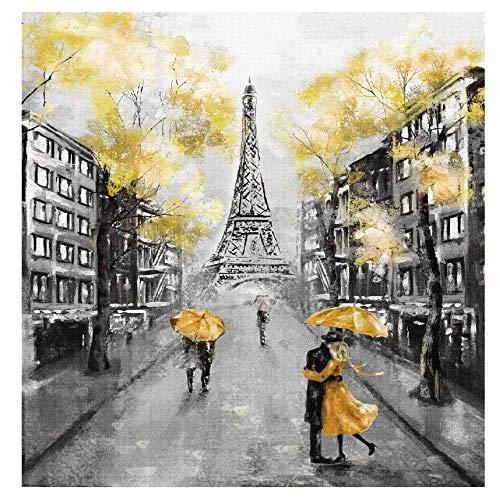 zxddzl Famose attrazioni Arte Pittura a Olio Paesaggio Pittura Decorativa Soggiorno Camera da Letto Divano Sfondo Muro JCH020 30 cm * 40 cm