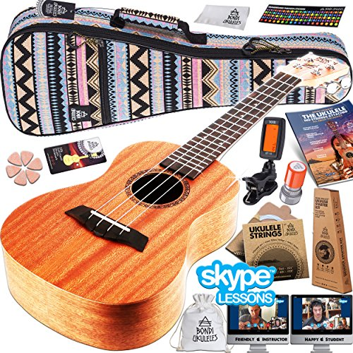 Ukulele Starter Kit 16 Piece Set Acclaimed Brand Get Official