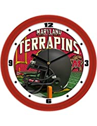 Maryland Helmet Wall Clock by SunTime