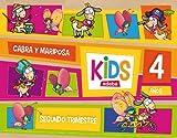 KIDS EDEBE 4 AÑOS SEGUNDO TRIMESTRE - 9788468309781