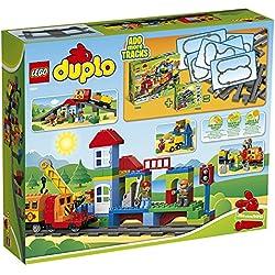 Lego Duplo 10508 Eisenbahn Super Set Mit Duracell Ultra Power Typ