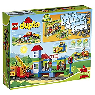 Lego Duplo 5702014973343 Lego Set Treno Deluxe Costruzioni Gioco Bambina Giocattolo 307, Multicolore, Set di 134 Pezzi (B00B06IQ0E) | Amazon price tracker / tracking, Amazon price history charts, Amazon price watches, Amazon price drop alerts