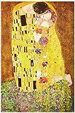 1art1 34929 Gustav Klimt The Kiss (z) Poster 91 x 61 cm - 1art1® - amazon.co.uk