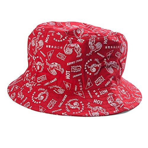Preisvergleich Produktbild Sriracha Print All Over Bucket Hat