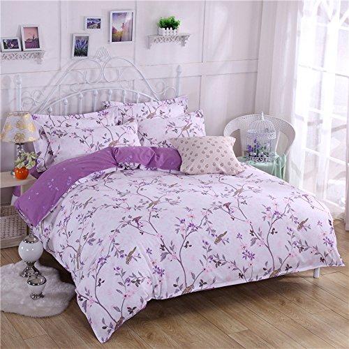Warmsun 200X230CM 1,5 -1.8M doble planta de lecho de algodón y cachemira engrosamiento Momao 4 Establece la serie de moda forros de cama personalizada
