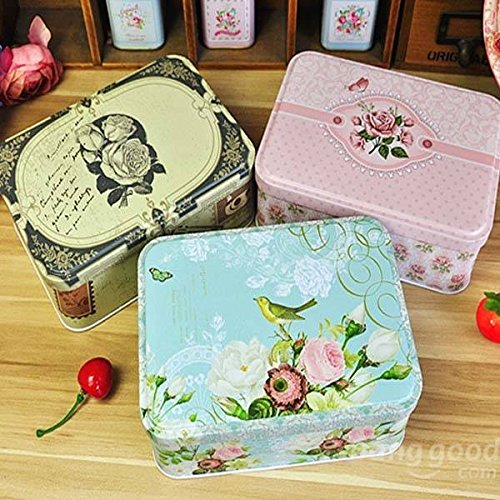 arten Rose Bird Tee Box Geschenk jewelry schlagkassette ()