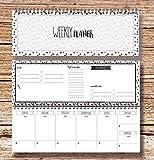 """""""My Weekly Planer schwarz"""" Tischkalender"""