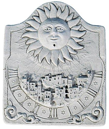 Cadran solaire Le village en pierre reconstituée
