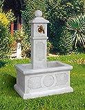 Standbrunnen MARINELLA H 100 Farbe weiss