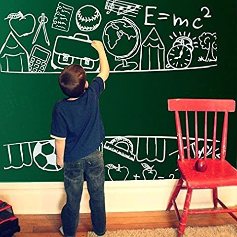 The blackboard with children graffiti wall film office training environmental erasable self-adhesive stickers thickened kindergarten,120 *