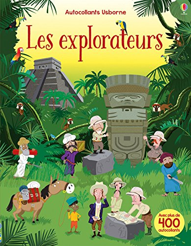 Les explorateurs - Autocollants Usborne