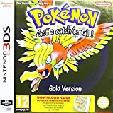 3DS Pokemon Gold Packaged Download Code (Nintendo 3DS) (New)