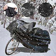 Bicycle Cover,Waterproof Bike Cover for Mountain Bike,NAKEEY Cycle Bicycle Bike Rain Dust Cover Waterproof Storage Cover for Road Bike[Black]